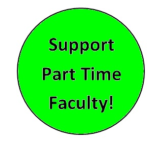 Support Part Time Faculty!